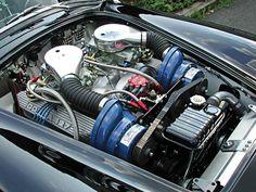The 1966 Shelby Cobra 427 Super Snake.... Engine