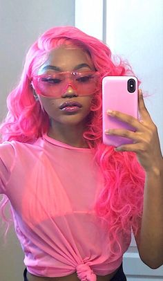 """bitches this pretty, thats seldom 🥰"" Baddie Hairstyles, Black Girls Hairstyles, Cute Hairstyles, Colored Weave Hairstyles, School Hairstyles, Beautiful Hairstyles, Updo Hairstyle, Wedding Hairstyles, Black Girl Aesthetic"