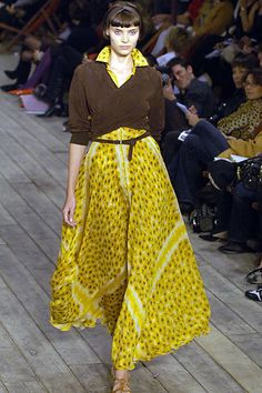 Hermès Spring 2007 Ready-to-Wear Fashion Show - Yasmin Warsame