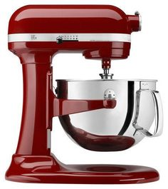 KitchenAid - Professional 600 Series Stand Mixer - Gloss Cinnamon, KP26M1XGC