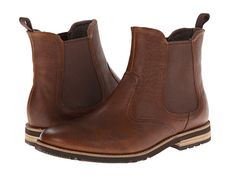 Rockport Ledge Hill 2 Chelsea Boot Tan Leather - Zappos.com Free Shipping BOTH Ways Tan Chelsea Boots, Casual Boots, Tan Leather, Men Dress, Men's Shoes, Casual Dresses, Footwear, Man Stuff, Free Shipping
