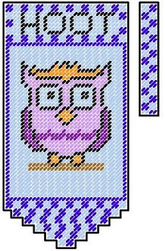 Owl Plastic Canvas Valance Pattern by PCDesignz on Etsy, $2.00