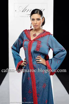 Caftan Marocain Boutique Takchita 2014 : Vente Location Caftan au Maroc: Djellaba Marocaine 2013 : Jallaba Moroccan Caftan, Joan Smalls, Mode Hijab, Mode Style, Kaftan, Pretty Dresses, Sari, Womens Fashion, Casual