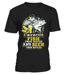 I Rescue Fish And Beer - Limited Edition  => #parents #father #family #grandparents #mother #giftformom #giftforparents #giftforfather #giftforfamily #giftforgrandparents #giftformother #hoodie #ideas #image #photo #shirt #tshirt