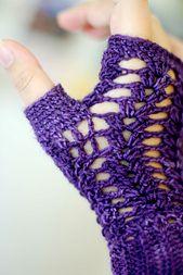 Ravelry: Mystery Crochet Fingerless Gloves pattern by Anastacia Zittel