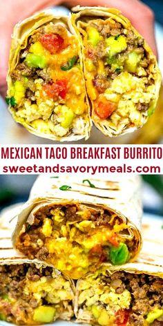 Mexican Breakfast Recipes, Brunch Recipes, Mexican Food Recipes, Beef Recipes, Dinner Recipes, Pancake Recipes, Crepe Recipes, Waffle Recipes, Mexican Brunch