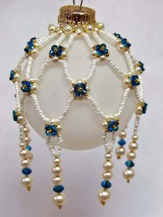 beaded  ornament cover pattern | That Bead Lady - Beads, Beading & Bead Classes in Newmarket Ontario