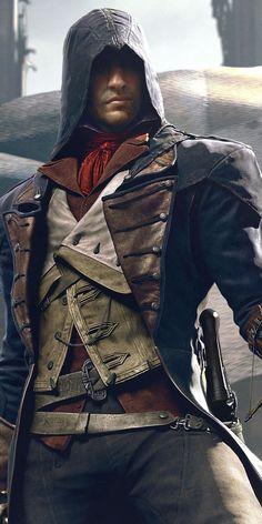 Art of Assassin, Assassin's Creed Unity, wallpaper Assassins Creed Rogue, Assasin Creed Unity, Assassins Creed Series, All Assassin's Creed Characters, Arno Victor Dorian, Assasins Cred, Assassin's Creed Wallpaper, Hd Wallpaper, Assessin Creed