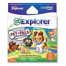 LeapFrog - Explorer Learning Game Pet Pals 2 English Edition