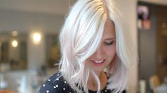My Journey To A Platinum And Pale Pink Long Bob