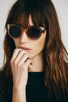 What To Buy At Free People For $100 Or Less #refinery29  http://www.refinery29.com/free-people-for-100-dollars#slide-7  Think of all the shade you could throw hidden behind these chic, oversized sunglasses.