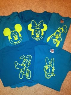 ...and chaos ensued - homemade Disney T-shirts