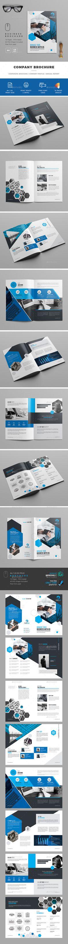 Business Brochure — Photoshop PSD #business #horizontal • Download ➝ https://graphicriver.net/item/business-brochure/19587301?ref=pxcr