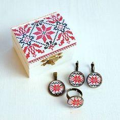 Cadouri bijuterii cu modele traditionale set