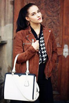 Orsay leather jacket