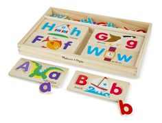 ABC Picture Boards   Toys for 3-4 year olds   Melissa and Doug