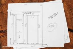 Create a Shed with these blueprints Shed Building Plans, Shed Plans, Building Ideas, Shed With Loft, Storage Shed Kits, Shed Blueprints, Woodworking Books, Woodworking Projects, Diy Projects