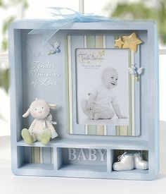 Baby Boy Shadow Box