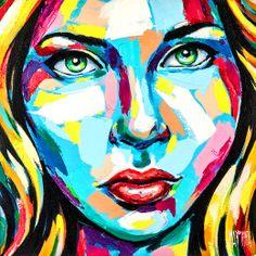 Peinture Forget me not - L