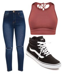 """""""Untitled"""" by folieapanic ❤ liked on Polyvore featuring Vans"""
