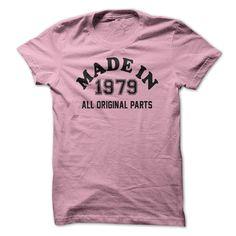 MADE IN 1979 - ALL ORIGIN... #Aged #Tshirt #year