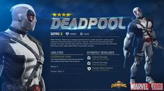 X-Force Deadpool in Marvel Contest of Champions
