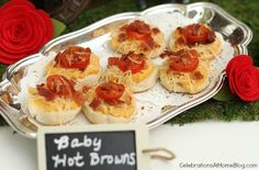 Baby Hot Browns http://blog.homes.com/2013/04/kentucky-derby-party-ideas/