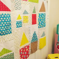 Sew Giving: The Circus Is Coming To Town - Baby Quilt