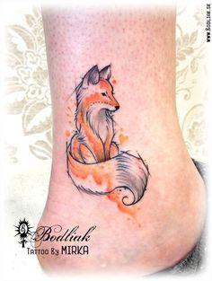 Resultado de imagen para tatouage renard