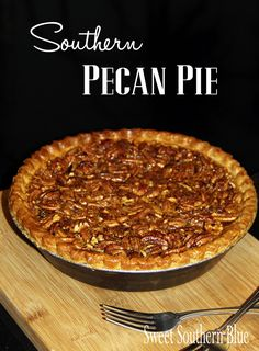 Old Fashioned Southern Pecan Pie Recipe