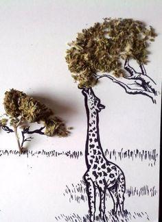 creativity. Weed.