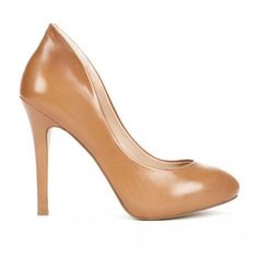 Camel or Nude?  Either way, love these! Neutral pumps create the perfect legs-for-days illusion.