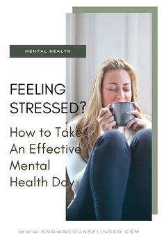 Let's take a day. First of all, imagine taking the WHOLE DAY. It blows your mind right? Feels impossible? What if we tried it? Here are the components of an effective mental health day. Which ones have you already tried?