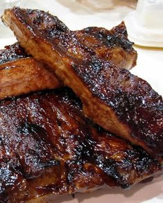 Barbecued Pork Ribs. Adapted from Bobby Chinn - Wild Wild East