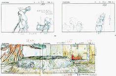 Film: Spirited Away (千と千尋の神隠し) ===== Layout Design - Scene: The Big Tub ===== Hayao Miyazaki