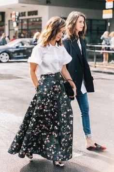 """gianmarcocalandrini: """"Street Style at LFW """""""