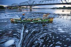 Dog Paddling: 6 Tips to Take Your Pooch Canoeing, Kayaking or SUPing Kayak Camping, Canoe And Kayak, Kayak Dog, Kayaking With Dogs, Excited Dog, Hiking Food, Outdoor Store, Lake Michigan, Paddle Boarding