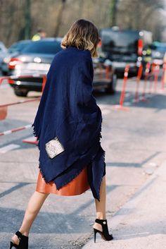 Paris Fashion Week AW 2015....Candela