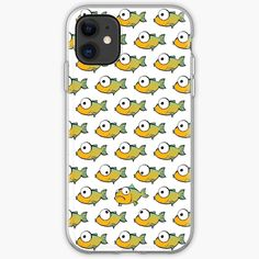 A School of Yellow and Green Fishes by MadoMade Ipad, Tech, Phone Cases, Iphone, Yellow, School, Creative, Green, Fun