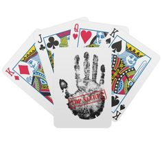 Cartões de jogo extremamente secretos jogos de baralho