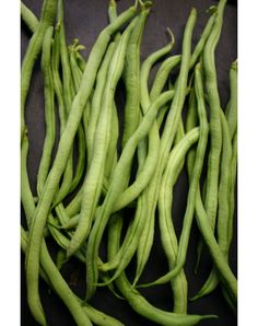 Fortex filet pole bean 60 day 10 inch beans that can be picked at any size on 6 to 8 foot plants.  Very good and dependable.  Will last through fall if you keep up with them.