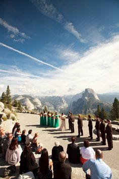 Glacier Point, what better backdrop can anyone ask for? Yosemite National Park