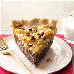 Coconut-Pecan German Chocolate Pie Recipe