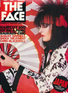 The Face magazine - cover scans of the first 50 issues - plus a few more. The Face magazine was a monthly independent music publication launched in Siouxsie Sioux, Siouxsie & The Banshees, The Face Magazine, 80s Goth, Shock Treatment, Pekinese, Post Punk, Ice Queen, Bands