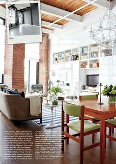 loft design via Style at Home