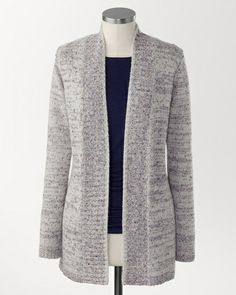 Confetti knit cardigan | Coldwater Creek - another good layering piece - great with jeans and a blouse.
