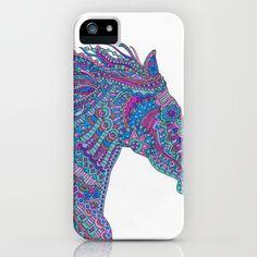 Technicolor Horse iPhone Case