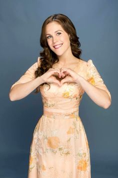 Erin Krakow from When Calls the Heart