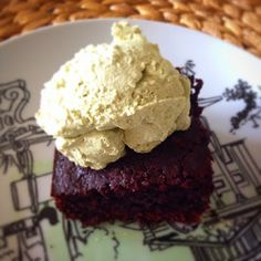 100% cacao chocolate cake - check out the recipe :)