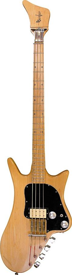 Marketed before Steinberger headless instruments, the early-'70s Bunker Pro-Bass was radical for its time.